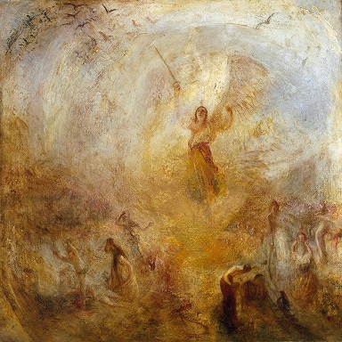 The Angel Standing in the Sun by William Turner