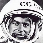 Portrait du cosmonaute Guerman Titov en 1961