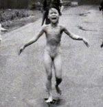 Photo de Kim Phu sur la route de Trang Bang le 8 juin 1972