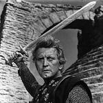 Kirk Douglas dans Le film Les Vikings