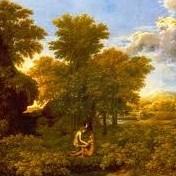 Détail du Printemps de Poussin