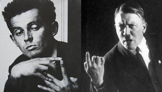 Egon Schiele et Adolf Hitler