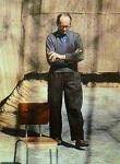 Photo d'Adolf Eichmann détenu à Jérusalem