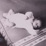 Photo de l'auteur dans sa première année.