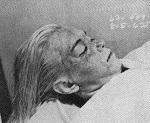 Photo de Marilyn Monroe morte